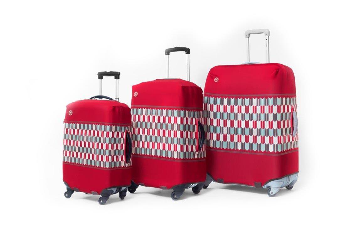 Housse de valise apache dandy nomad la collection for Housse valise