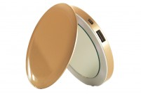 Batterie externe miroir Or Pearl