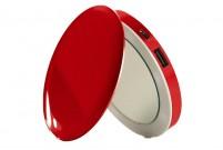 Batterie externe miroir Rouge Pearl