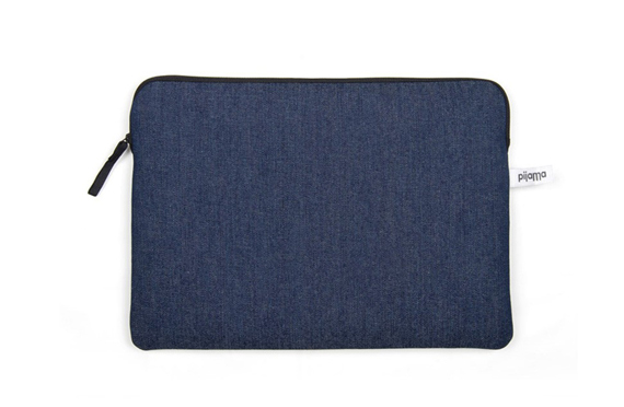 Housse zipp e pijama bleu nuit la collection for Housse zippee