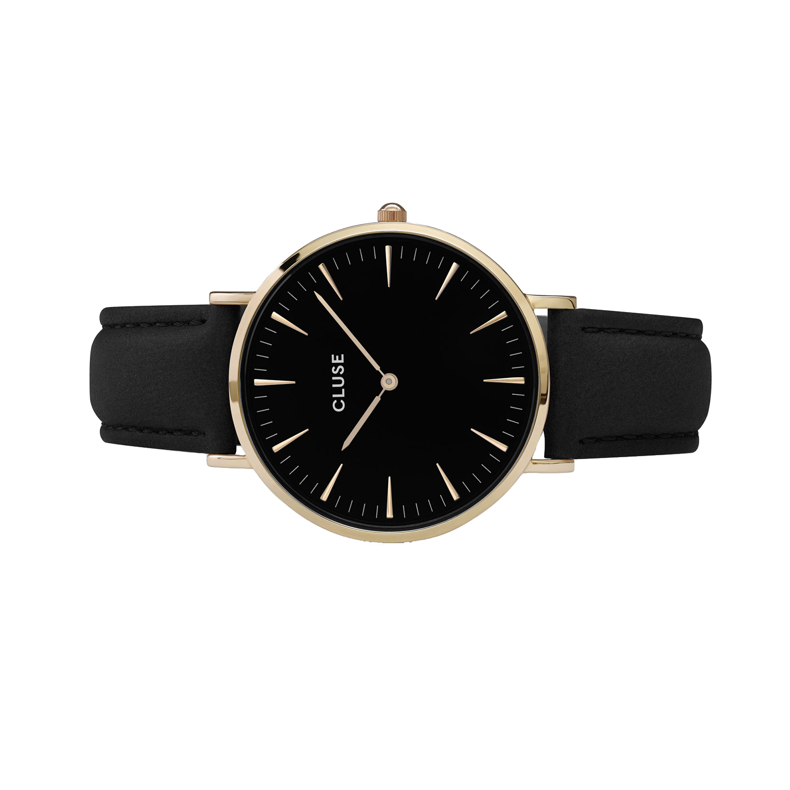 Montre La Bohu00e8me or et noir Cluse - La Collection